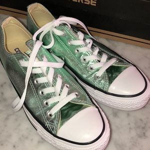 New Converse mint metal size 7
